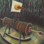 """untitled"", 2009, oil on canvas,110 x 160 cm"