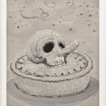 """""""Happy birthday"""", 2010, Oil on paper, 40 x 60 cm"""